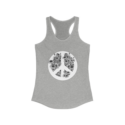 Peace and Daisies tank top