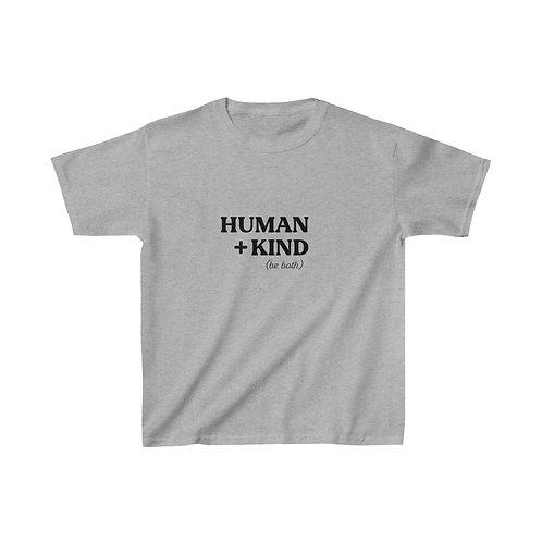 Kids Human + Kind Tee