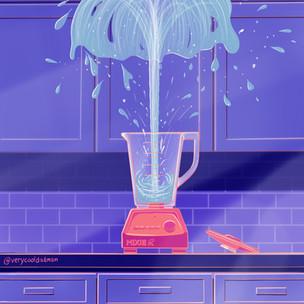 Kitchen Fountain
