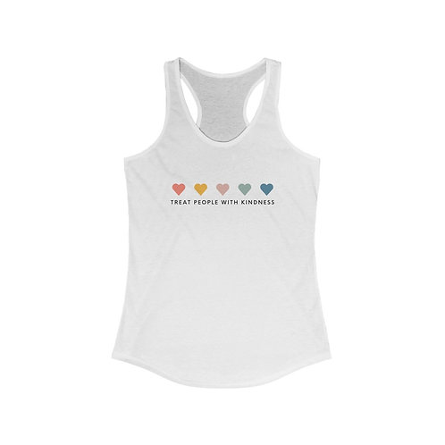 Treat People with Kindness Racerback Tank