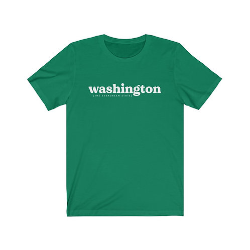 Washington, the Evergreen State Tee
