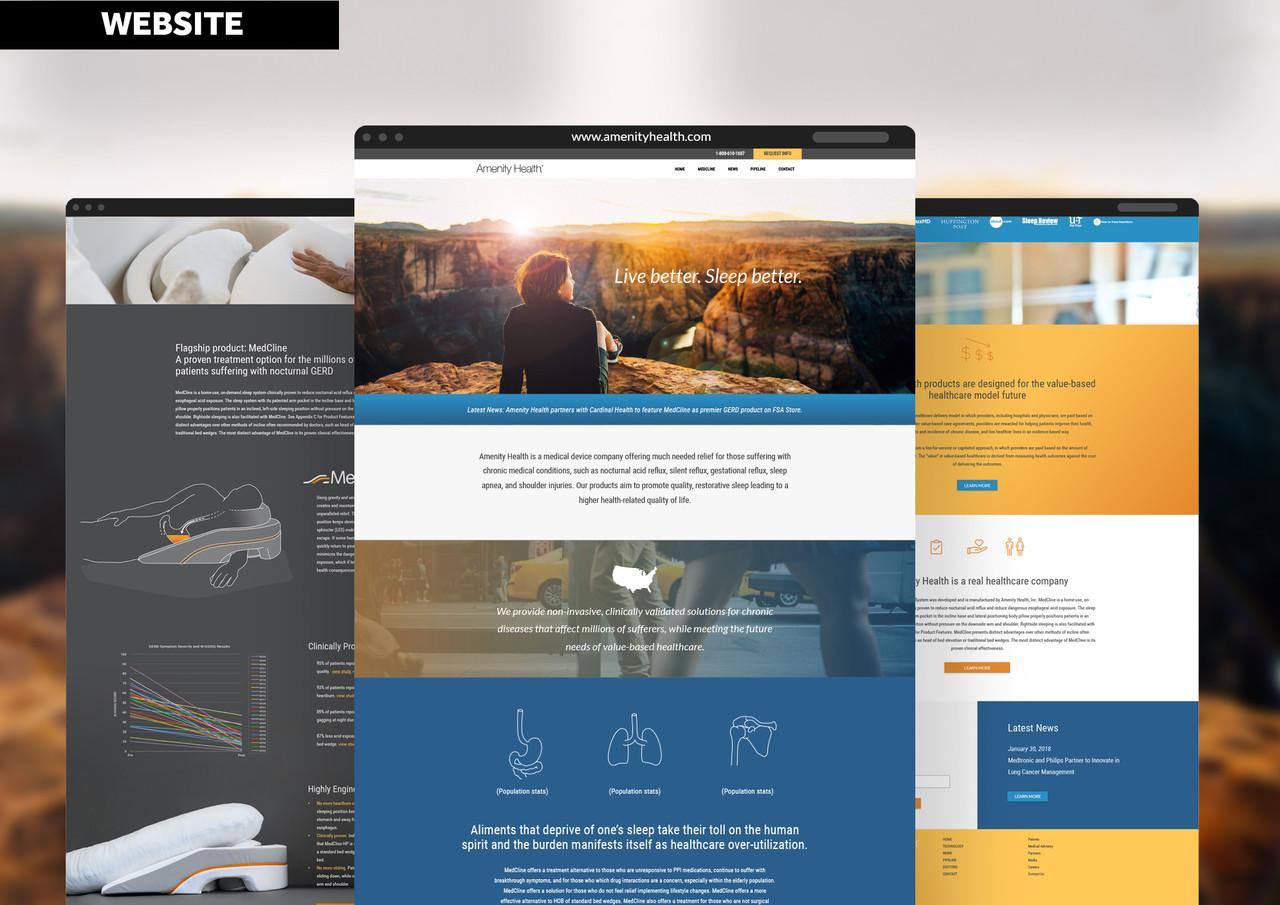 Amenity Health Website