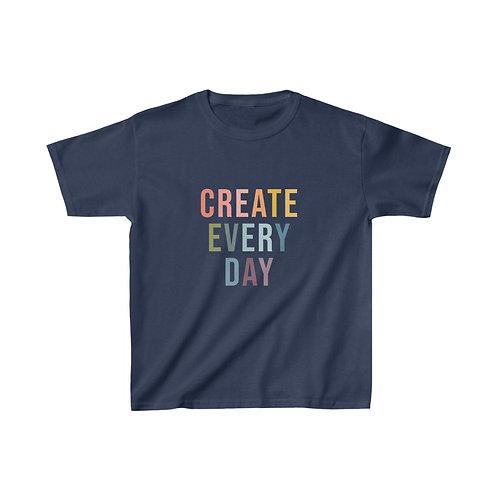 Kids Create Every Day Tee