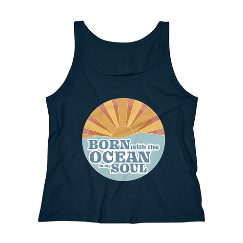 Born with the Ocean in My Soul Tank Top