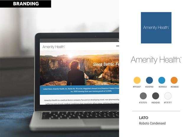 Amenity Health Branding