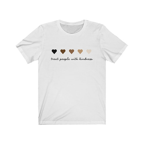 Treat People with Kindness Tee,  Black Lives Matter Edition