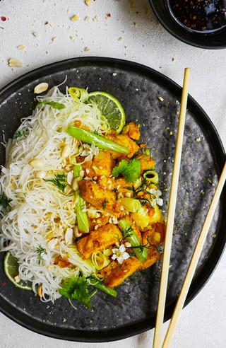 Vietnamese Turmeric Fish with Dill (Cha Ca La Vong)