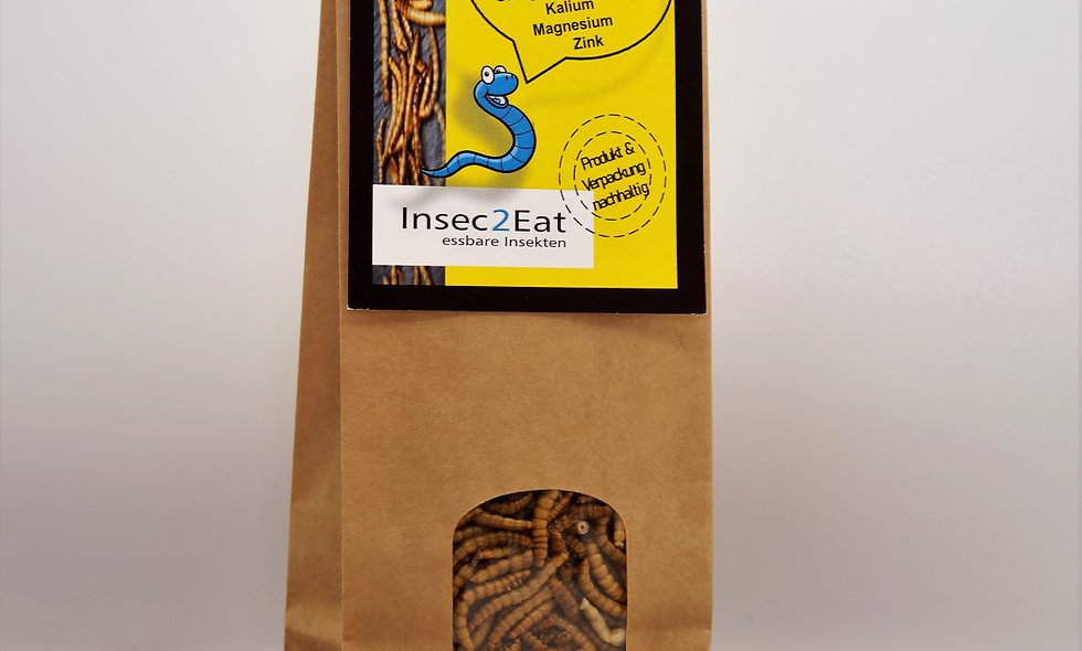 Edible mealworms 120 g