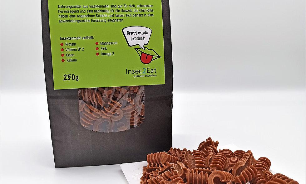 Chili-Rillis von Insec2Eat mit Insektenmehl