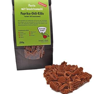 Pasta aus Insektenmehl