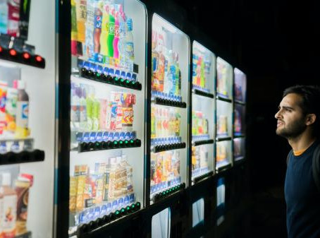 Essbare Insekten aus dem Automaten