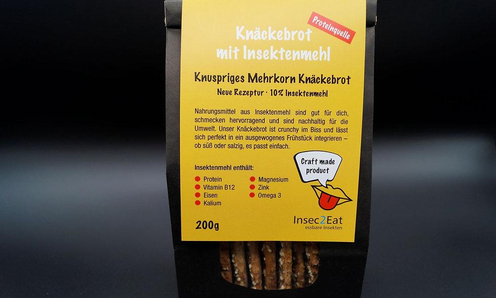 Knäckebrot mit Insektenmehl Insec2Eat