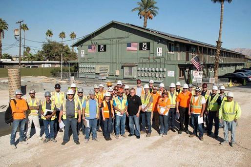 Veterans Village Crsis Center Construction Crew