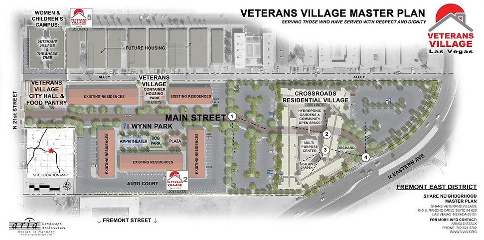 Veterans Village Las Vegas Master Plan