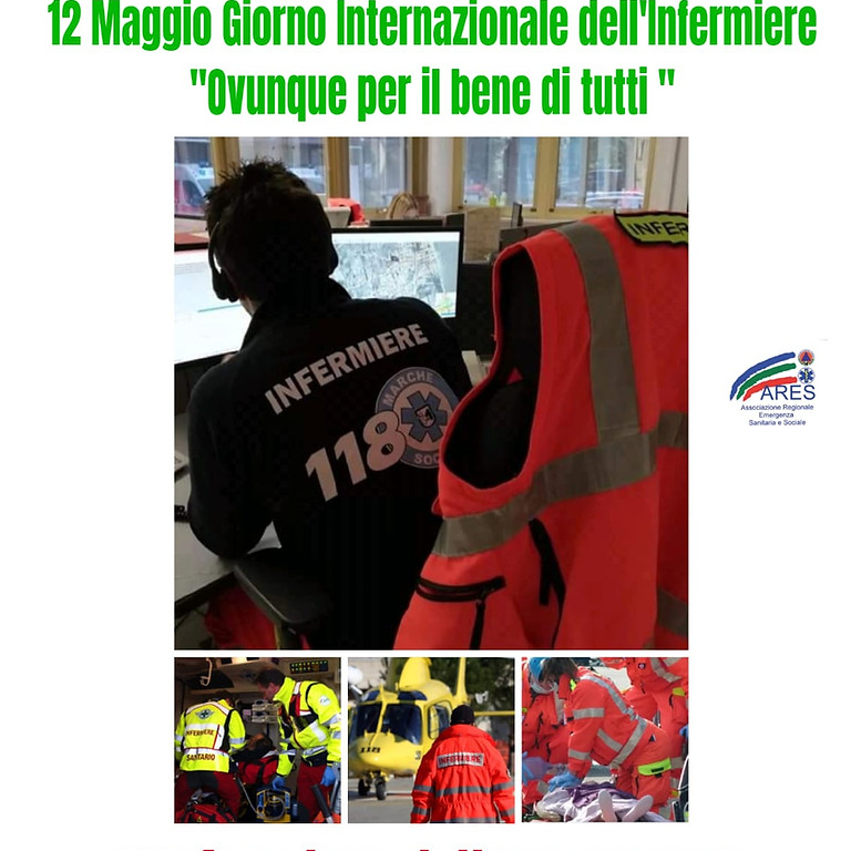 SIIET Marche: 12 Maggio, Infermiere dall'emergenza all'assistenza e cura sul territorio in epoca pandemica