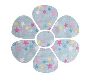 Flower pin board - 'twinkle'