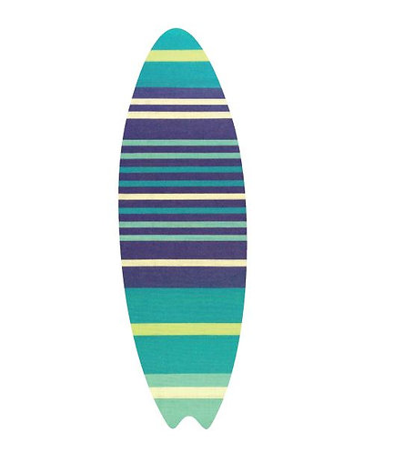 Surfboard pin board - 'horizon'
