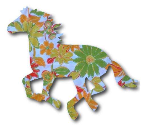 Unicorn or horse pin board - 'sunshine'