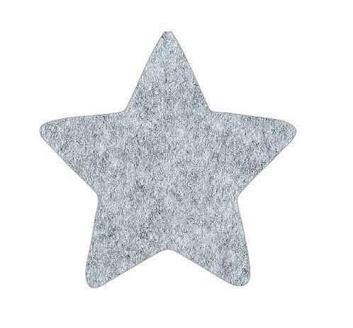 Star pin board - 'grey fuzz'