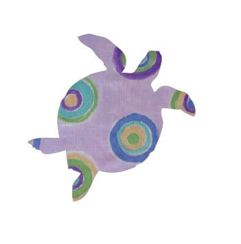 Turtle pin board - 'lilac b'