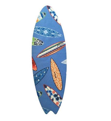 Surfboard pin board - 'surferini sky'