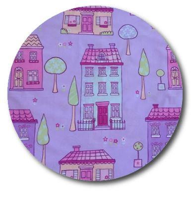 Circle pin board 'chalet'