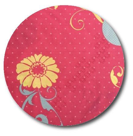 Circle pin board 'flourish'