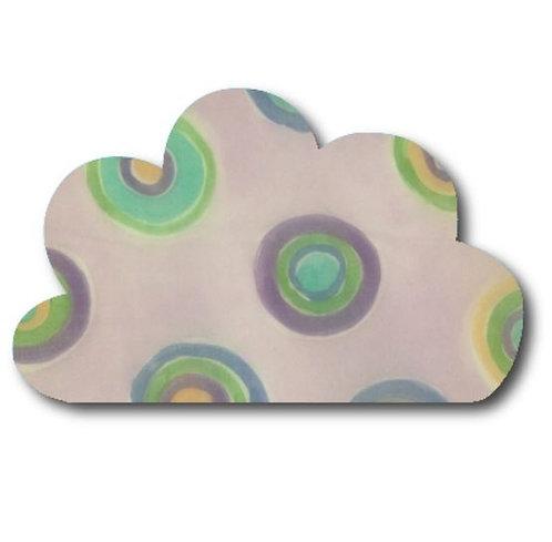 Cloud pin board - 'lilac spot'