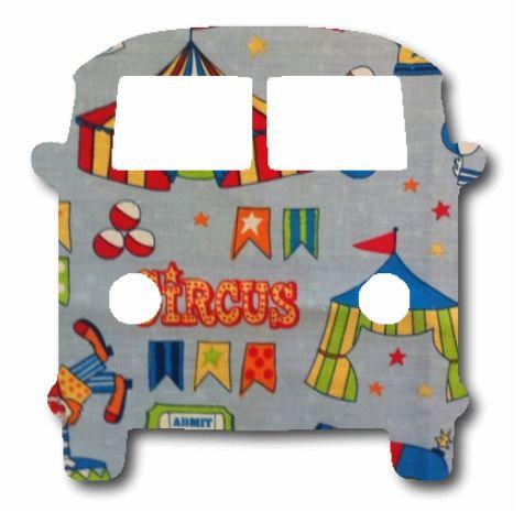 Kombi pin board - 'circus'