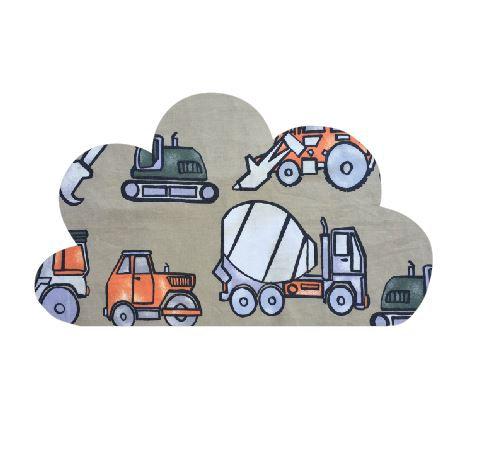 Cloud pin board - 'truckin'