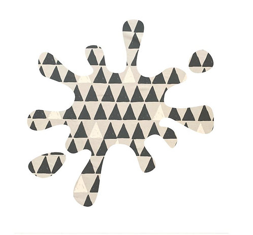 Splat pin board - 'pointy'