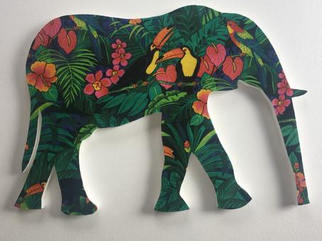 Elephant Pin Board - love it!