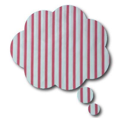 Thought bubble -'p line'