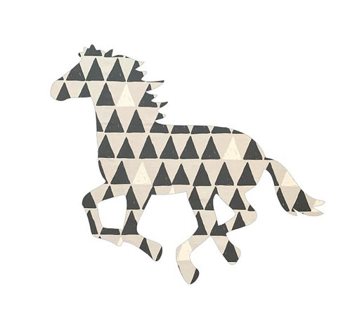 Unicorn or horse pin board - 'pointy'