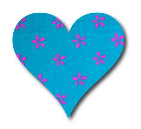 Heart pin board - 'daisy doo'