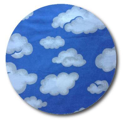 Circle pin board 'blue yonder'
