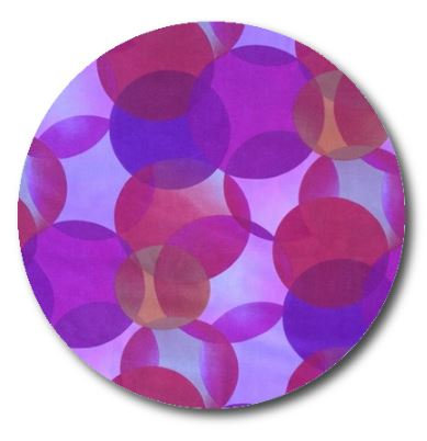 Circle pin board 'kaleidoscope'