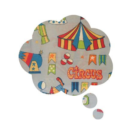 Thought bubble -'circus'