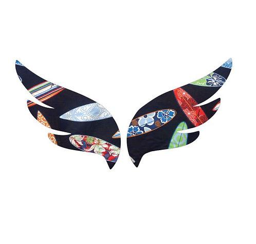 Pair of wings pin board 'surferini'