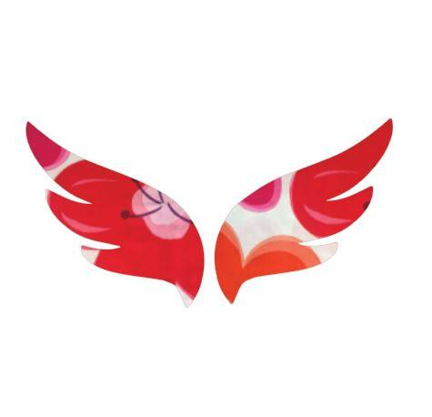 Pair of wings pin board 'pop flower'