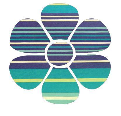 Flower pin board - 'horizon'