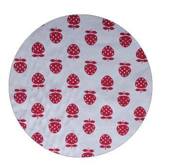 Circle pin board 'strawberry'
