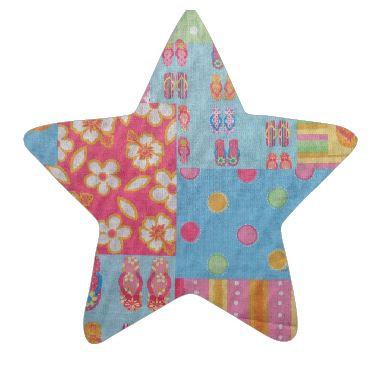 Star pin board - 'beach girl'