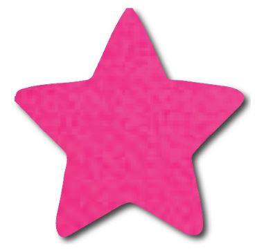 Star pin board - 'hot pink'