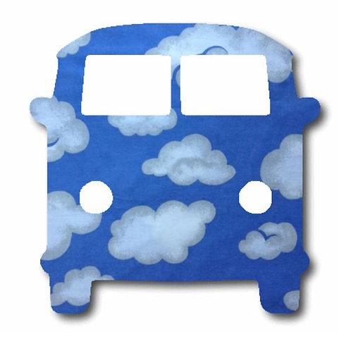 Kombi pin board - 'blue yonder'