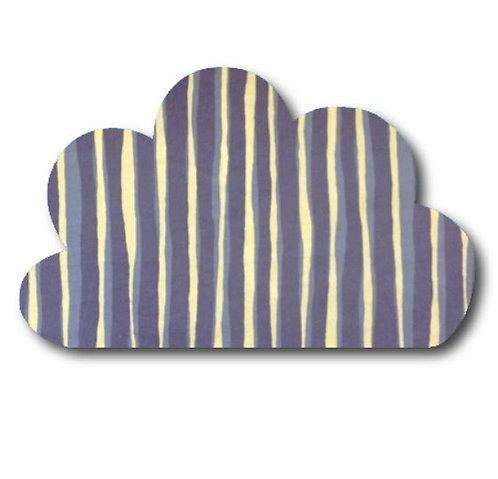 Cloud pin board - 'blue poles'