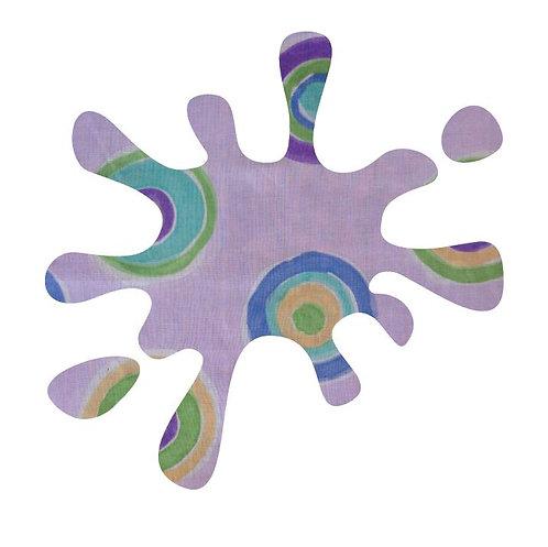 Splat pin board - 'lilac b'