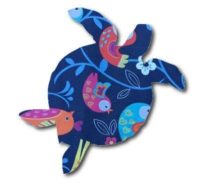 Turtle pin board - 'birdie'