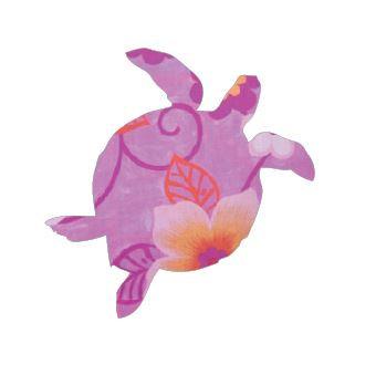 Turtle pin board - 'wild flowers'