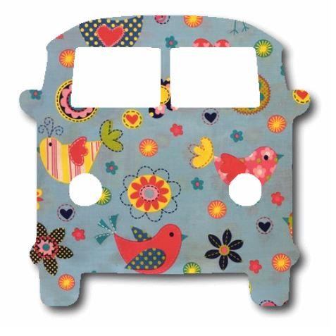 Kombi pin board - 'happy place'